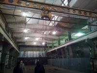 Аренда склада, производства Ярославское шоссе, Пушкино. Склад-производство с кран-балкой, 507 кв.м