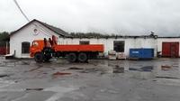 Аренда помещений автобазы под склад, производство Киевское шоссе, 34 км от МКАД, Селятино. 576 кв.м.
