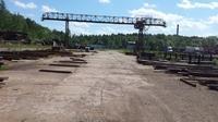 Аренда открытой площадки с козловым краном Симферопольское шоссе, 92 км от МКАД, Протвино. 1000-8000 кв.м
