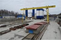 Продажа производства стройматериалов с ж/д веткой Дмитровское шоссе, 98 км от МКАД, Дубна. 2,42 Га.