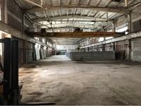 Аренда производства, склада с кран-балкой Лыткарино, Новорязанское шоссе, 12 км от МКАД. 1400 кв.м.