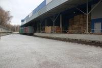 Аренда здания склада с ж/д веткой в Лыткарино, Новорязанское шоссе, 10 км от МКАД. 9250 кв.м.