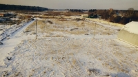 Аренда открытой площадки с ангаром Химки, Ленинградское шоссе, 6 км от МКАД. 0,5-4 Га.