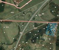 Аренда открытых площадок Симферопольское шоссе, 30 км от МКАД, деревня Новосёлки. 3000 - 24000 кв.м.