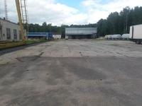 Аренда открытой площадки с ж/д веткой и кран-балкой Электросталь, Горьковское шоссе 43 км от МКАД. 4270 кв.м.
