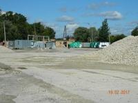 Аренда открытой площадки с ж/д тупиком в Нахабино, Волоколамское шоссе, 15 км от МКАД. 1 Га.