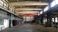 Аренда производства, склада с кран-балкой Ярославское шоссе, 19 км от МКАД, Пушкино.  670-1670 кв.м.