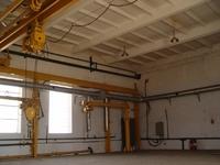 Аренда помещения 235 кв.м с кран-балкой и открытой площадкой под производство Каширское шоссе, 50 км от МКАД, Михнево.