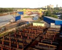 Открытая площадка с краном и ж/д Волоколамское шоссе, 17 км от МКАД, Дедовск. 500-2000 кв.м.