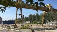 Аренда открытой площадки с козловым краном Ярославское шоссе, 8 км от МКАД, Мытищи. 3000 - 5000 кв.м.