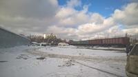 Продажа открытой площадки с ж/д тупиком и складом в Нахабино, Волоколамское шоссе, 15 км от МКАД. 2,1 Га.