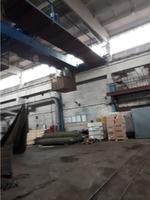 Аренда производства с краном 10 тн Мытищи, Ярославское шоссе, 7 км от МКАД. 850 кв.м.