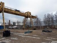 Аренда открытой площадки с козловым краном Ярославское шоссе, 8 км от МКАД, Мытищи. 3000 кв.м.