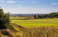Продажа земли у Москвы - реки под строительство коттеджного поселка, Новорязанское шоссе, 25 км от МКАД. 16,4 Га.