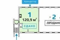 Продажа арендного бизнеса: салон красоты в ЦАО, Новослободская м. 121 кв.м.
