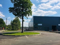 Аренда склада со стеллажами Калужское шоссе, 4 км от МКАД, Мосрентген. 950 кв.м.