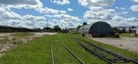 Аренда открытых площадок с ЖД в Обнинске, 86 км от МКАД, Киевское и Калужское шоссе.