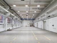 Аренда здания с кран-балкой под склад, производство Мытищи, Ярославское шоссе, 8 км от МКАД. ОСЗ 1300 кв.м.