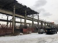 Аренда открытой площадки с краном 25 тн Ногинск, Горьковское шоссе, 37 км от МКАД. 1500 кв.м.