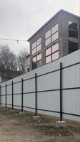Аренда здания и открытой площадки Каширское шоссе, 8 км от МКАД, Молоково. ОСЗ 1000 кв.м, площадка 3000 кв.м.