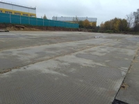 Аренда открытой площадки с твердым покрытием Ленинградское шоссе, 20 км от МКАД, Елино. 700 - 2900 кв.м