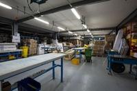 Аренда склада, производства с офисом Каширское шоссе, 1 км от МКАД. 350 - 1408 кв.м.