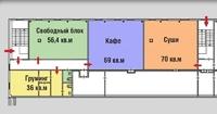 Продажа арендного бизнеса в Москве: площадь в ТЦ, Крылатское м. 291 кв.м.