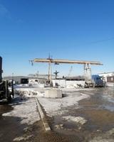 Аренда открытой площадки с краном и ж/д Новорязанское шоссе, 40 км от МКАД, Раменское. 10000-30000 кв.м.