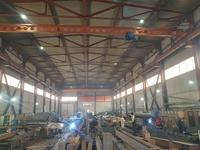 Аренда производства с кран-балкой Новорязанское шоссе, 35 км от МКАД, Раменское. Площадь 1275 кв.м. 0,5 Га.