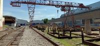 Аренда открытой площадки с краном и ж/д Рязанское шоссе, Томилино, 8 км от МКАД. Площадь 1000 - 3000 кв.м.