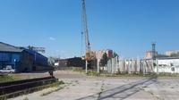 Аренда открытой площадки с ж/д и краном Ивантеевка, Ярославское шоссе, 15 км от МКАД. 3000-15000 кв.м.